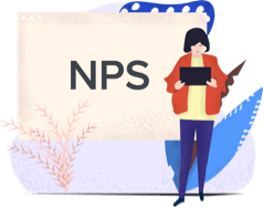 Support Agent Working with NPS as KPI