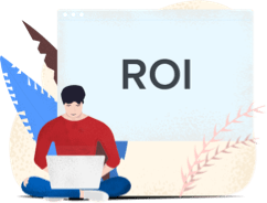 Marketer Working with ROI as KPI
